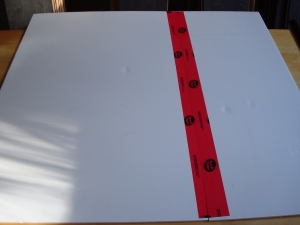 Taping together two boards