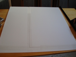 "How to get a 32"" x 32"" square"